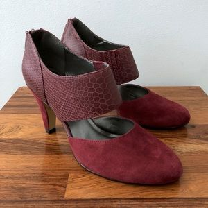 Bella Vita Burgundy 'Neola' Pump